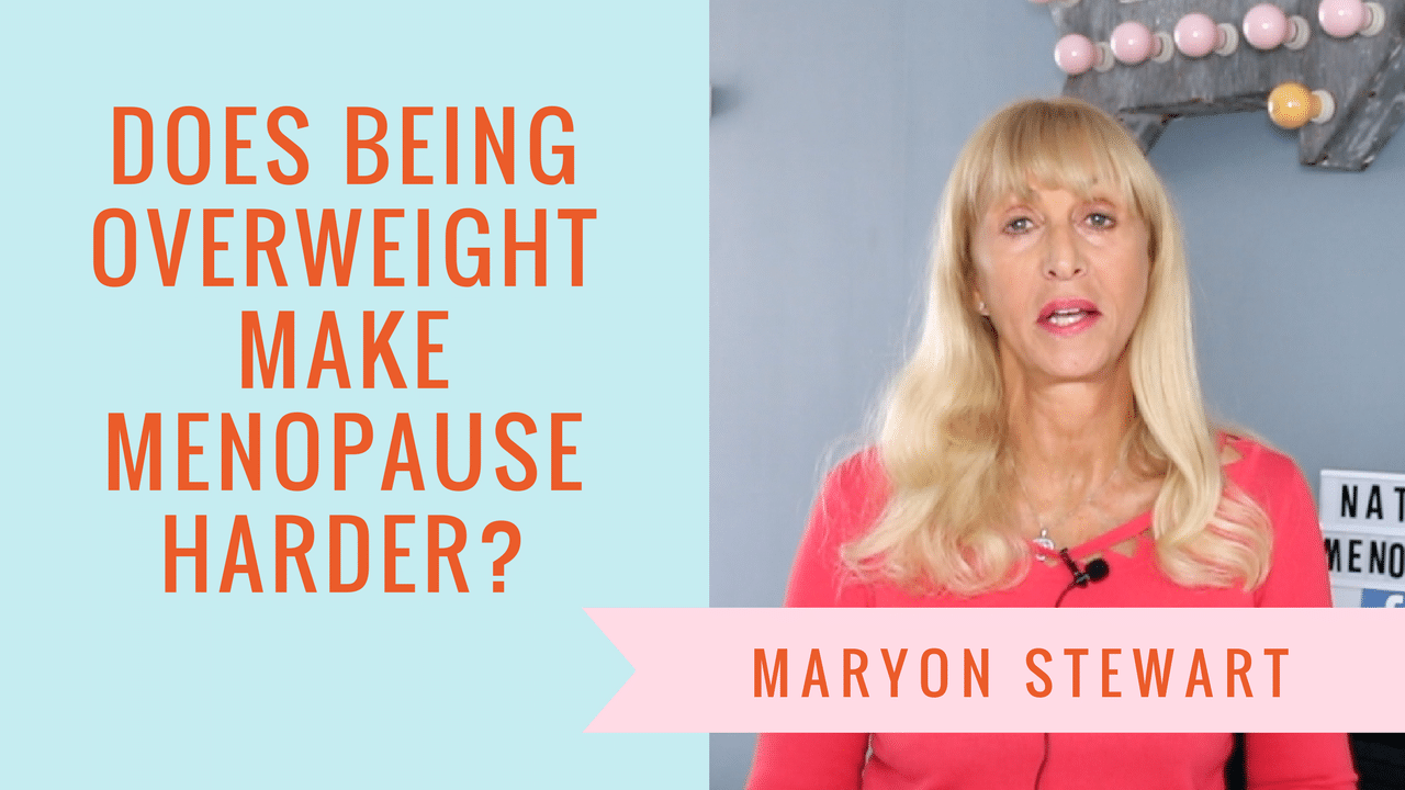 overweight makes menopause harder Why being overweight makes menopause harder 3