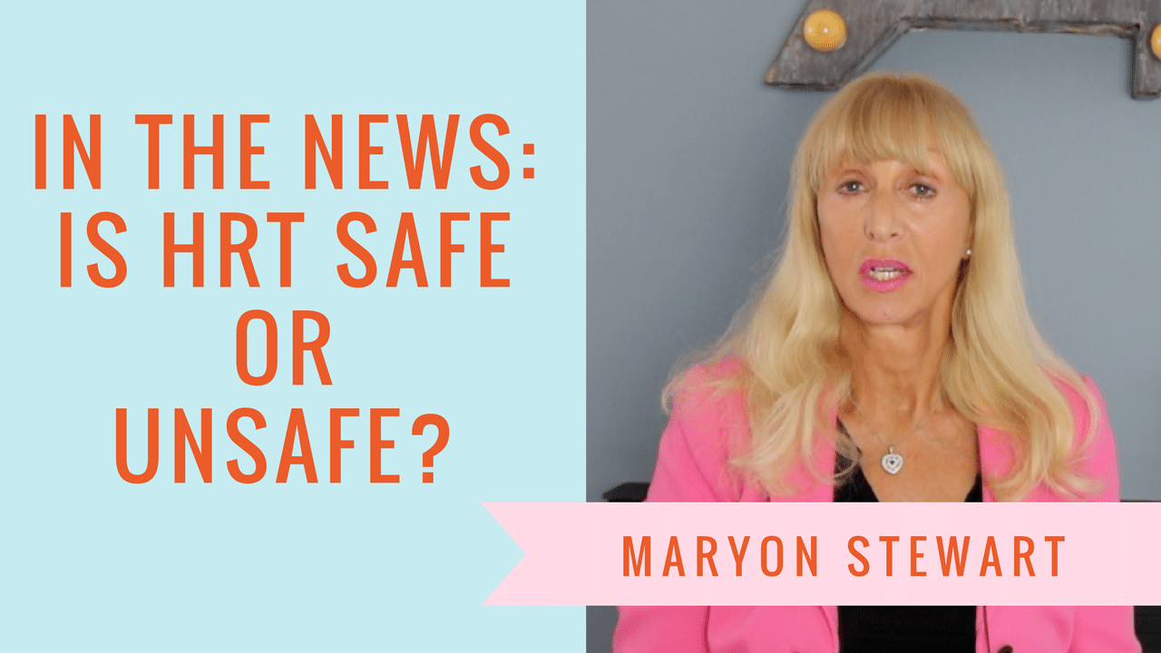 In The News: HRT Safe Or Not? Maryon Thumbnail