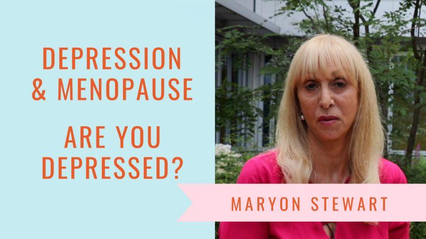 Feeling suicidal at midlife? - Maryon Stewart