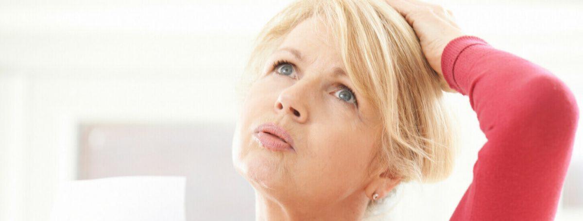 Symptom Hot Flushes - Menopause symptoms - Maryon Stewart