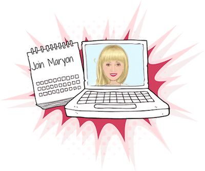 Join Maryon's Virtual Class virtual class Virtual Class maryon stewart starburstsmall